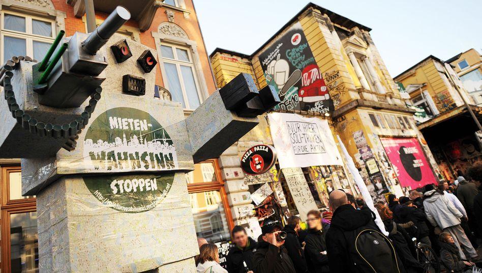 Mieterprotest in Hamburg: 90.000 fehlende Wohnungen