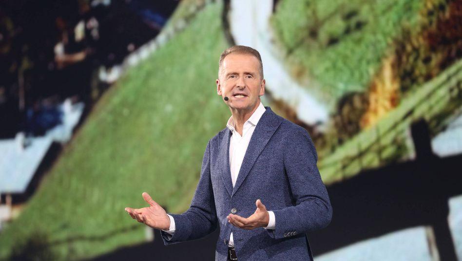 VW-Chef Herbert Diess: Durchgestochene Interna