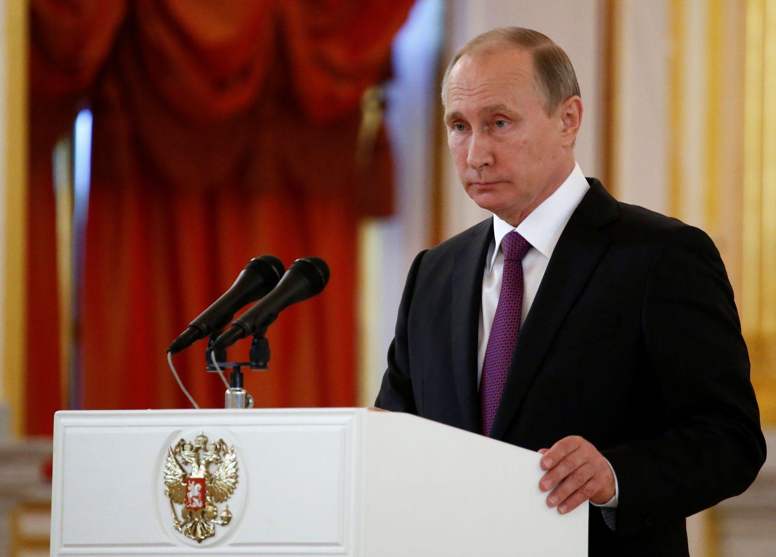 Putin Trump Wahl Reaktion