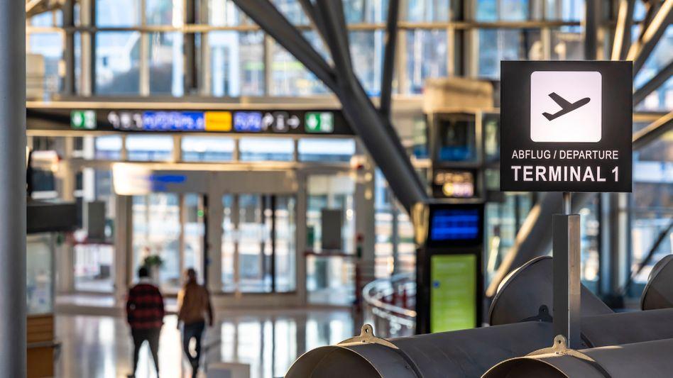 Flughafen Stuttgart zu Zeiten der Pandemie