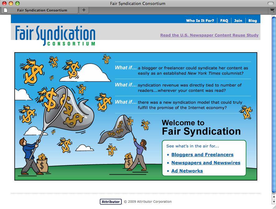 SCREENSHOT Fair Syndication