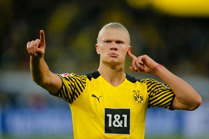 Fünf Spiele, sieben Tore: Erling Haaland
