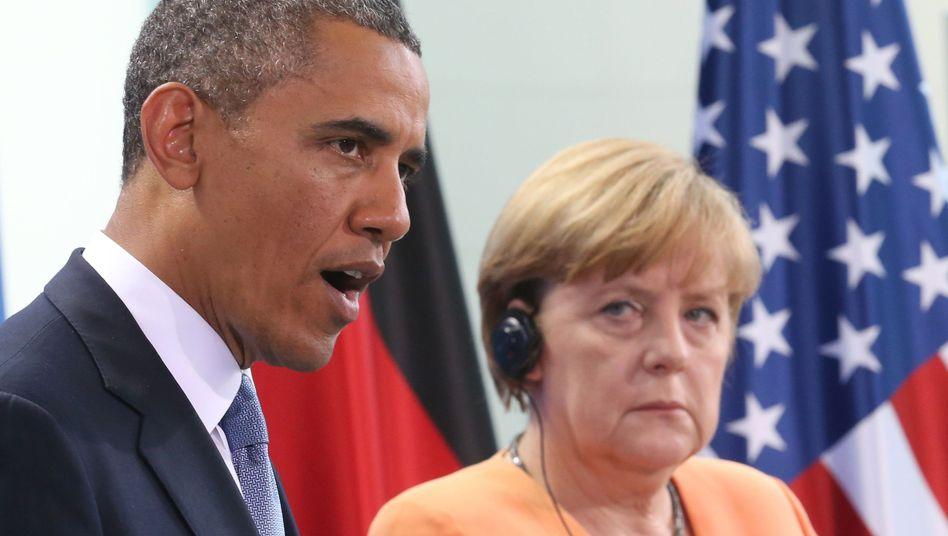Obama und Merkel: Viel enttäuschte Liebe