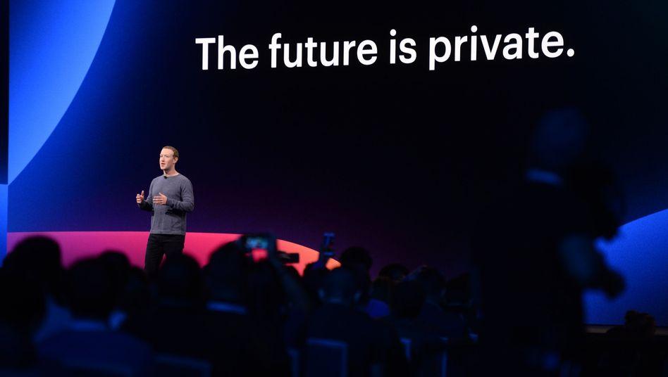 Mark Zuckerberg und Facebooks neues Mantra