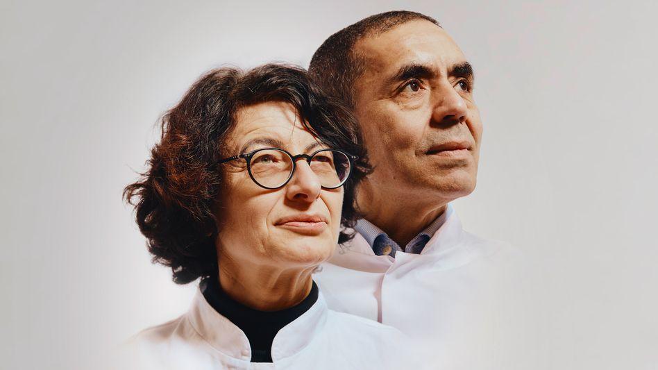 Biontech-Gründer Türeci und Şahin