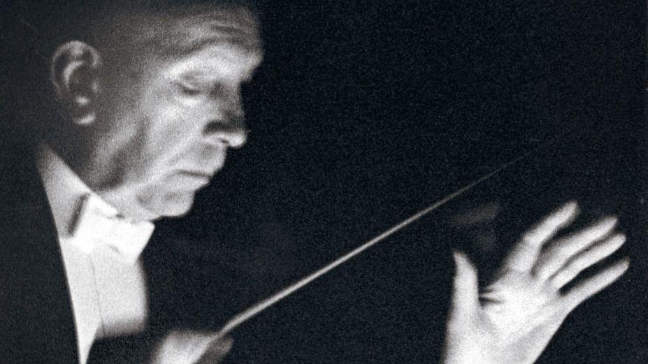 Dirigent Strauss um 1944