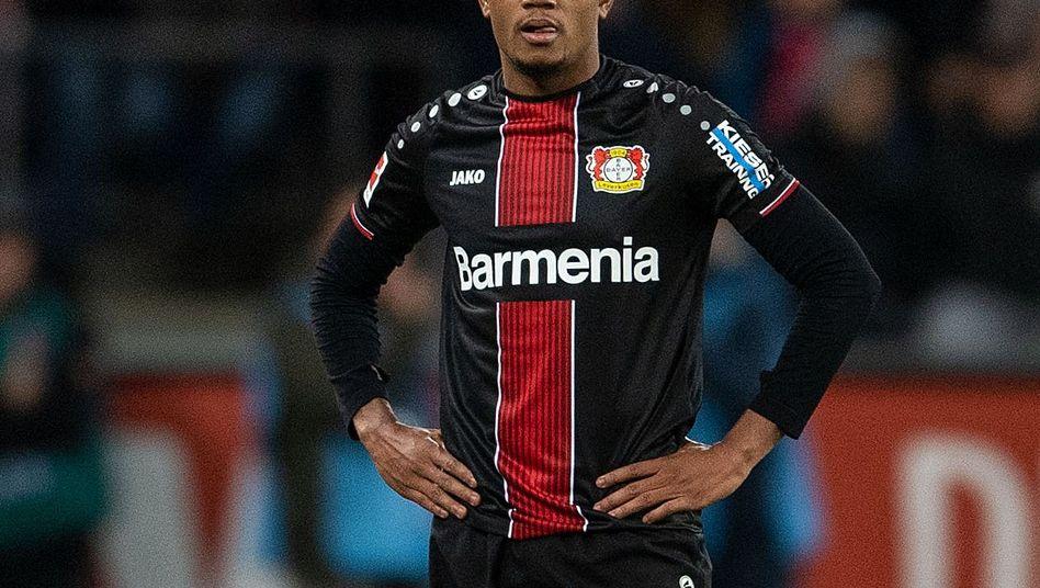 Zwei Platzverweise als Einwechselspieler - das gelang in dieser Bundesliga-Saison bislang nur Leon Bailey