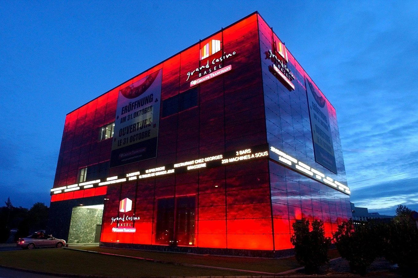 Brutaler Überfall auf Grand Casino in Basel