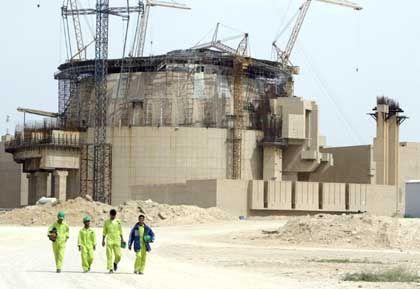 Iranisches Kraftwerk Bushehr: Fischer ist besorgt