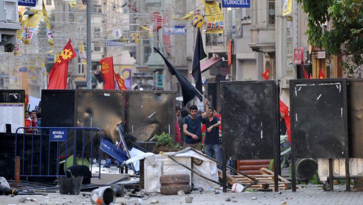 Türkische Polizeigewalt: Krieg um Bäume