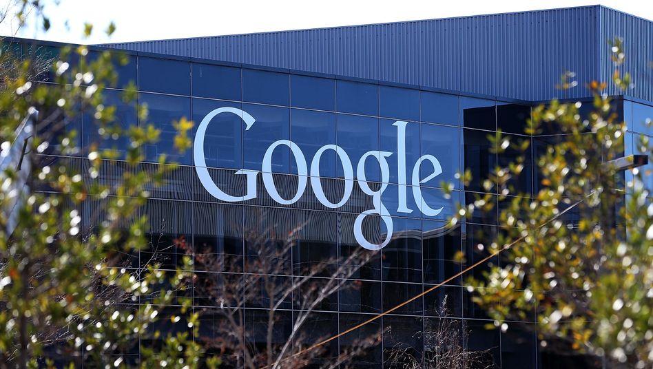 Google-Zentrale (in Mountain View, Kalifornien): Bedrohung für die Pressefreiheit?