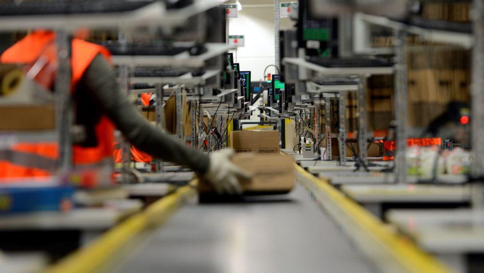 """Amazon-Logistikzentrum in Koblenz: """"Wir brauchen Leiharbeiter"""""""