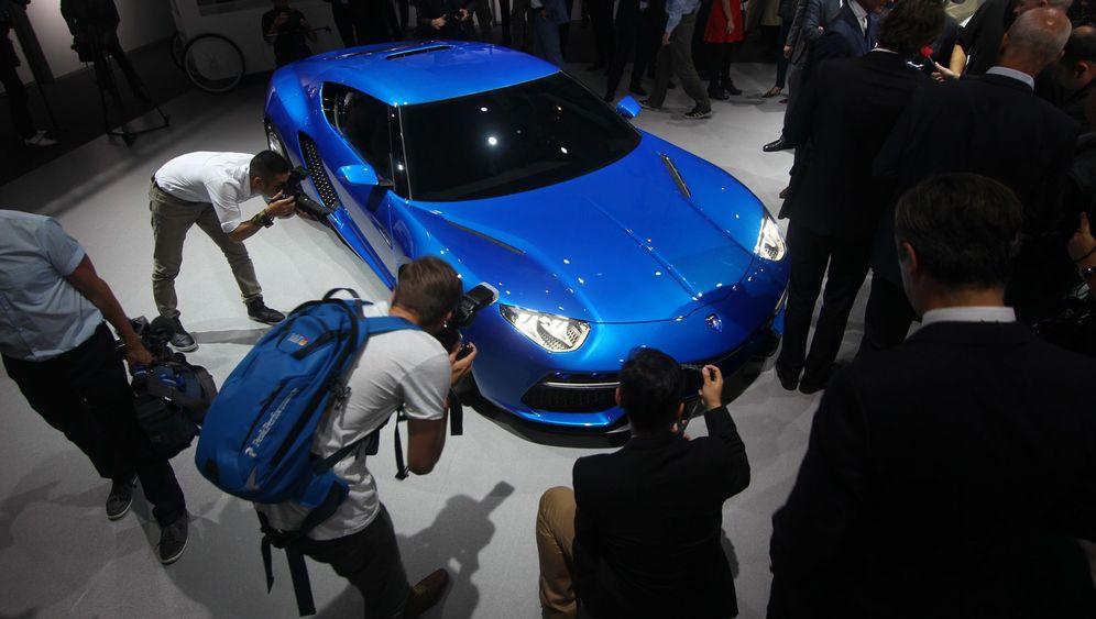 Weltpremiere Lamborghini Asterion: Extremes Mischwesen