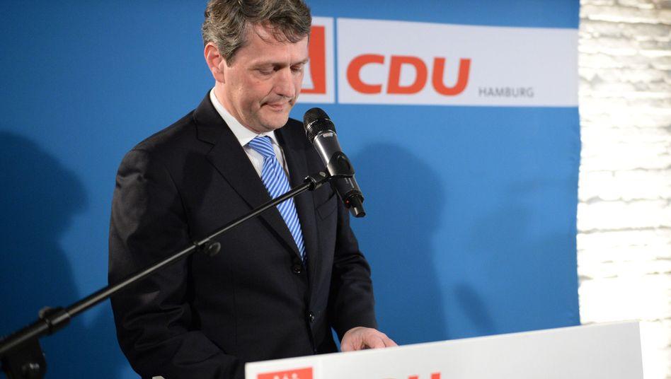 CDU-Spitzenkandidat Dietrich Wersich: Niederlage in Hamburg