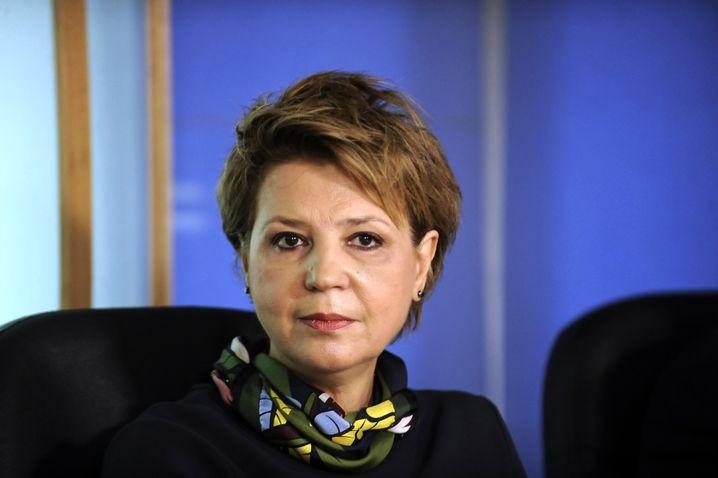 "Greek Administrative Reforms Minister Olga Gerovasili: ""We are on a good path."""