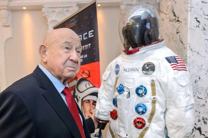 """Alexey Leonow im Jahr 2015: """"Zwischen Astronauten haben niemals Grenzen existiert"""""""