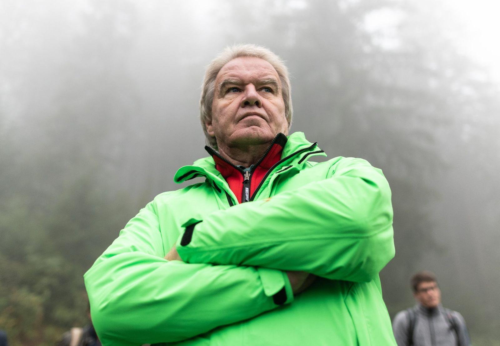 Umweltminister Untersteller im Nationalpark Schwarzwald