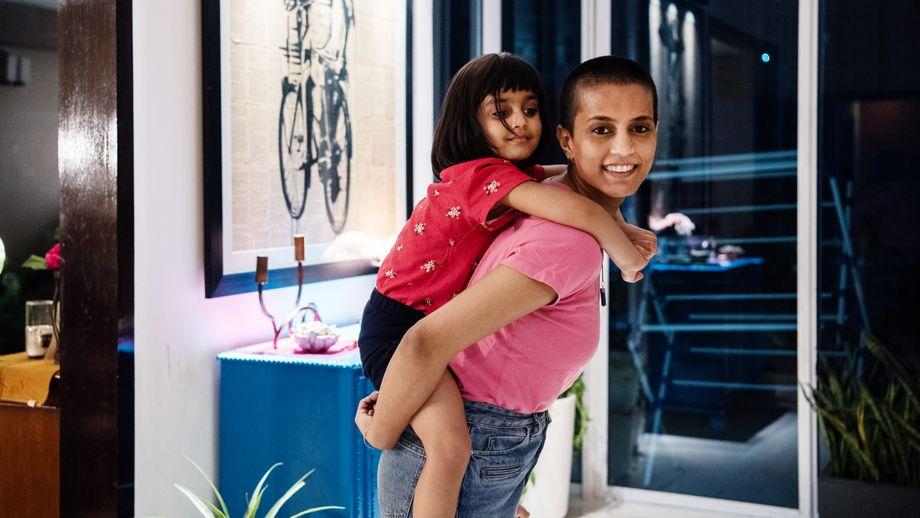 Divya Bedi Singh mit ihrer Tochter Naaz