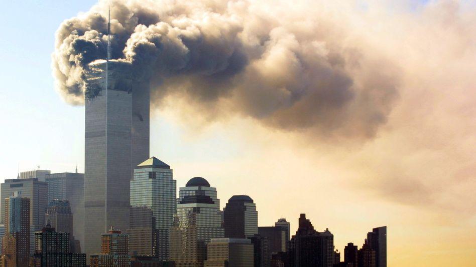 Terroranschlag am 11. September 2001 in New York (Archivbild)