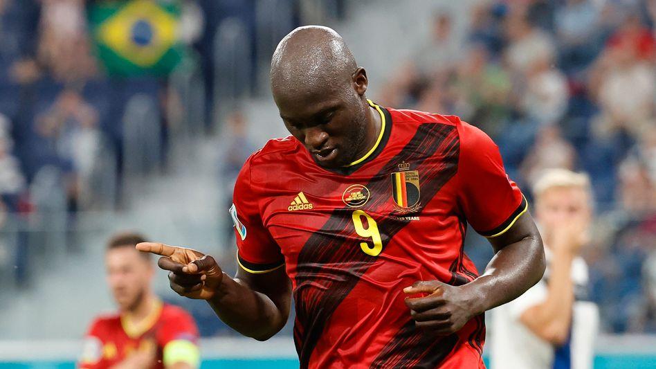 Romelu Lukaku traf für Belgien