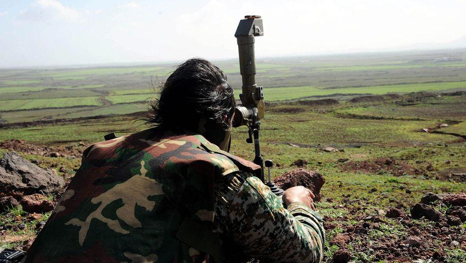 Syrien: Beobachter melden Startvon AssadsBodenoffensive