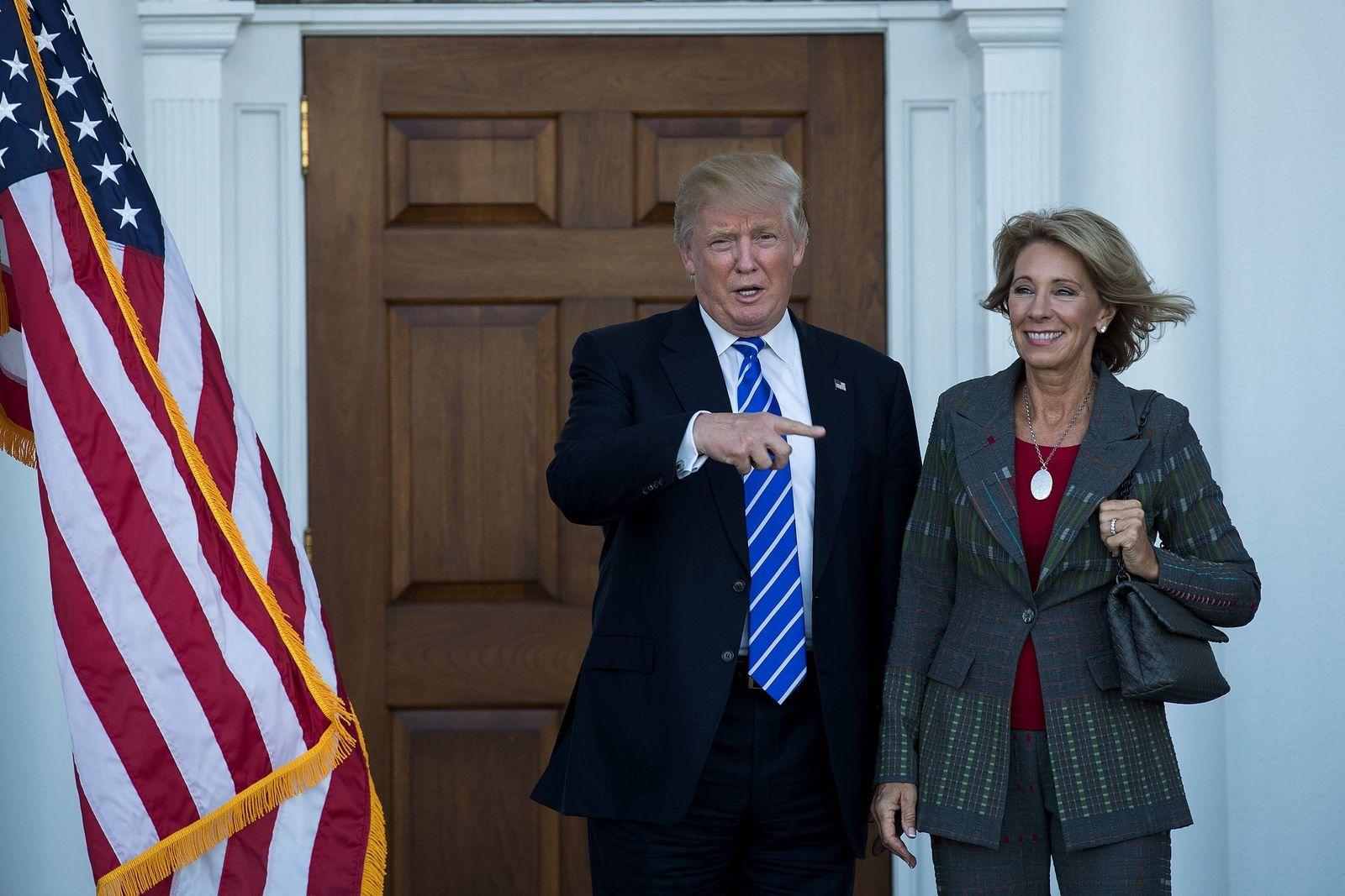 Detroit/ Betsy DeVos/ Donald Trump