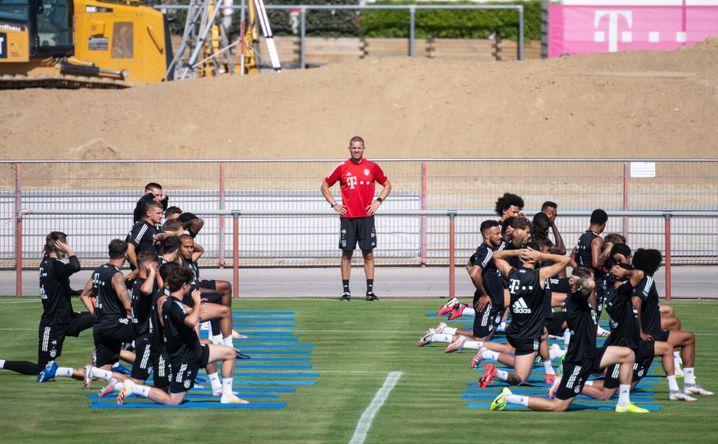 Holger Broich hat in seinem Fitnessteam mehrere Angestellte, auf dem Platz steht aber meist er als Leiter der Abteilung
