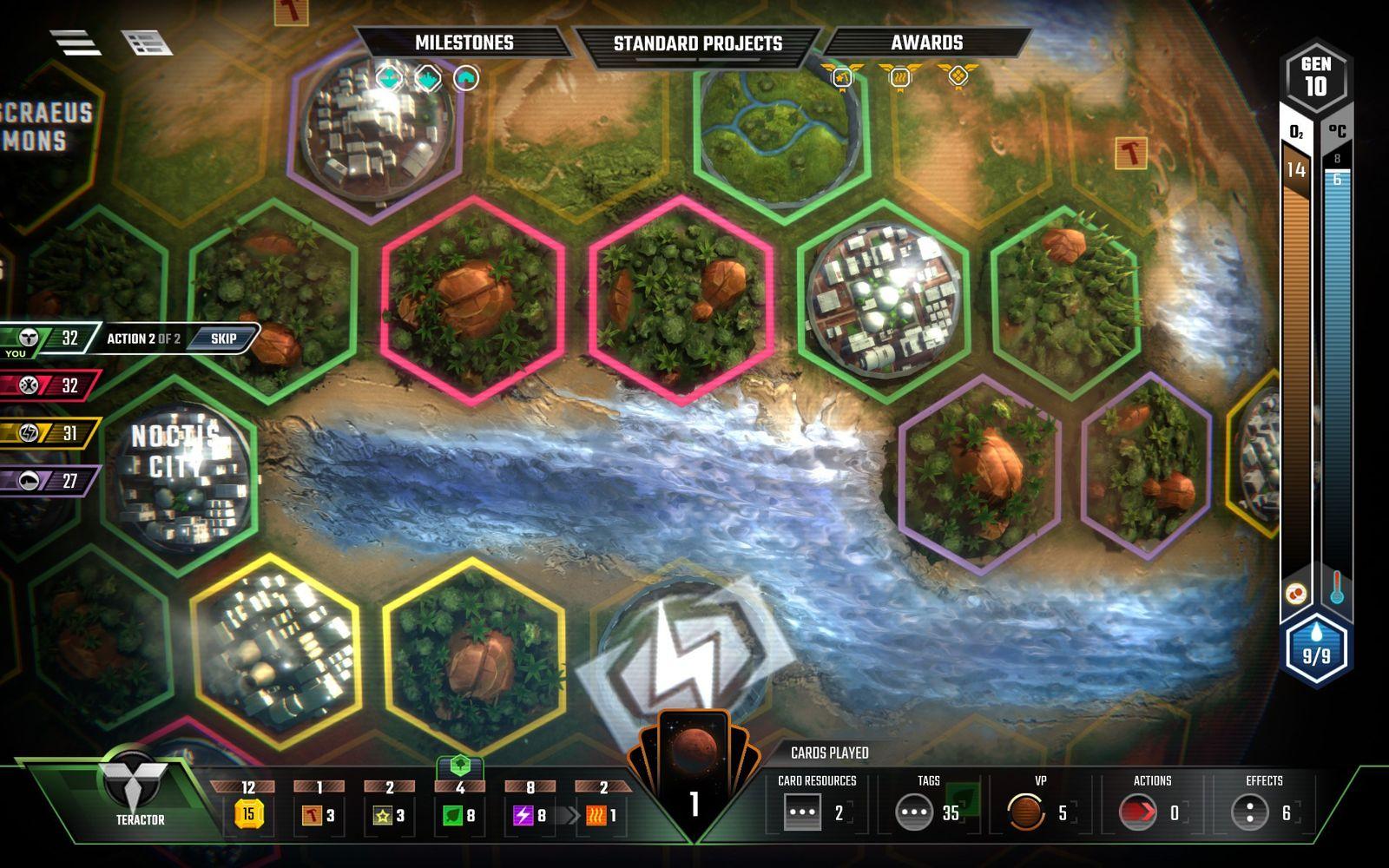 Terraforming Mars: