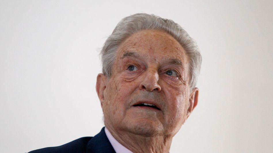 """Billionaire US investor George Soros on the plagued euro: """"The politicians have not really tried to fix any crisis; they have so far only tried to buy time."""""""