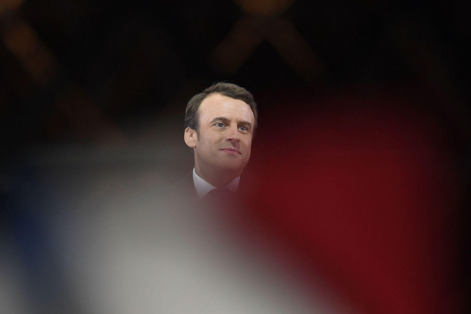 Aufmacherbilder/ Macron