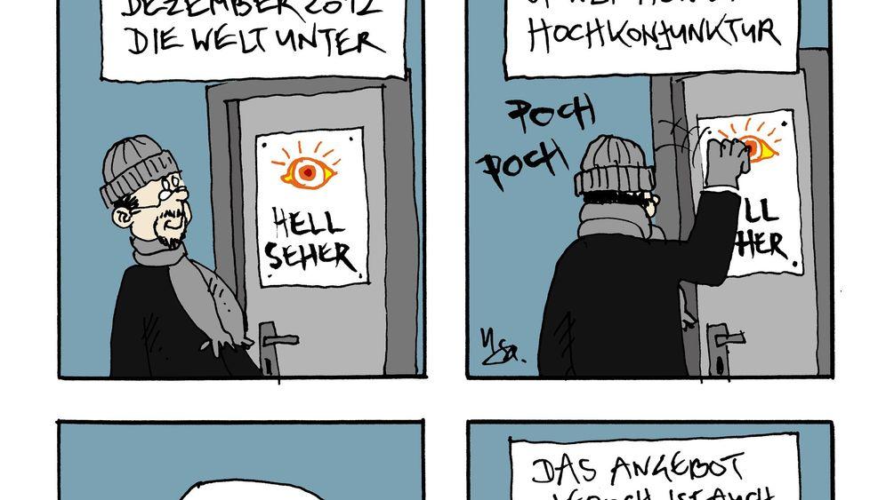 "Comic-Adventskalender: ""Weimarer Flausen"""