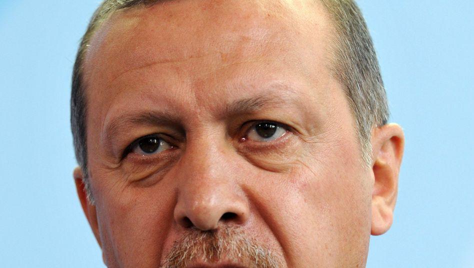 Der türkische Ministerpräsident Recep Tayyip Erdogan: Neuer Streit zum EU-Beitritt