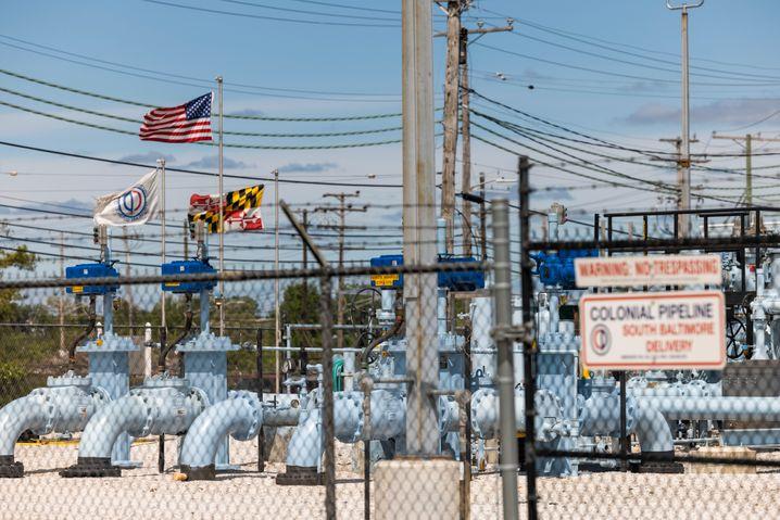 Colonial betreibt die größte US-Kraftstoffpipeline