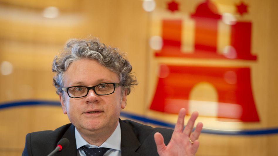 Hamburgs Datenschutzbeauftragter Johannes Caspar: Bußgeld von bis zu 300.000 Euro