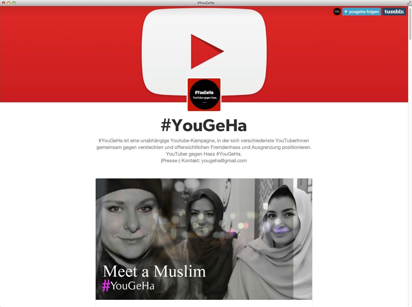 EINMALIGE VERWENDUNG NUR ALS ZITAT Screenshot/ YouGeHa