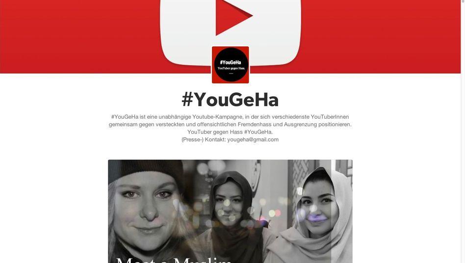 """YouTube-Kampagne #YouGeHa: """"Rassistischen Strömungen etwas entgegensetzen"""""""