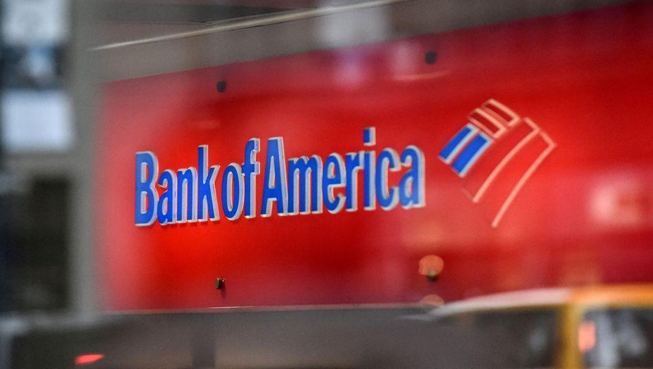 Bank-of-America-Logo in New York
