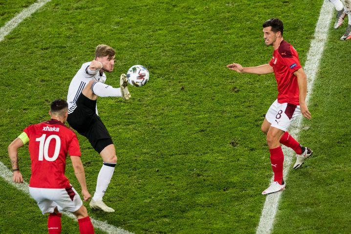 Offensiv sah es gar nicht schlecht aus für die deutsche Nationalmannschaft