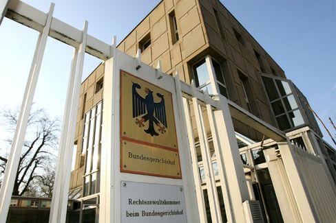 Der Bundesgerichtshof in Karlsruhe: Der BGH ist das oberste Gericht der BRD im Bereich der ordentlichen Gerichtsbarkeit - also die letzte Instanz nach Amts-, Landes- und Oberlandesgerichten