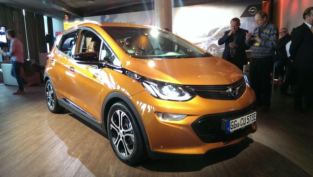 Neues Elektroauto: Opel Ampera E: Das Volks-Elektroauto