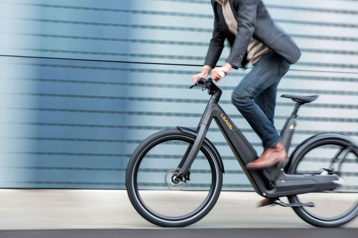 E-Bike Leaos: Fast vollständig aus Carbon