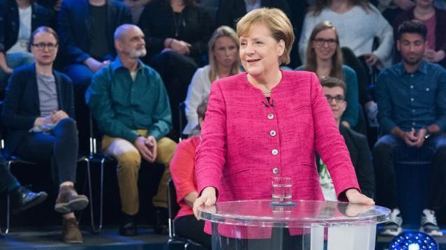 "Merkel in der ZDF-Sendung ""Klartext"""