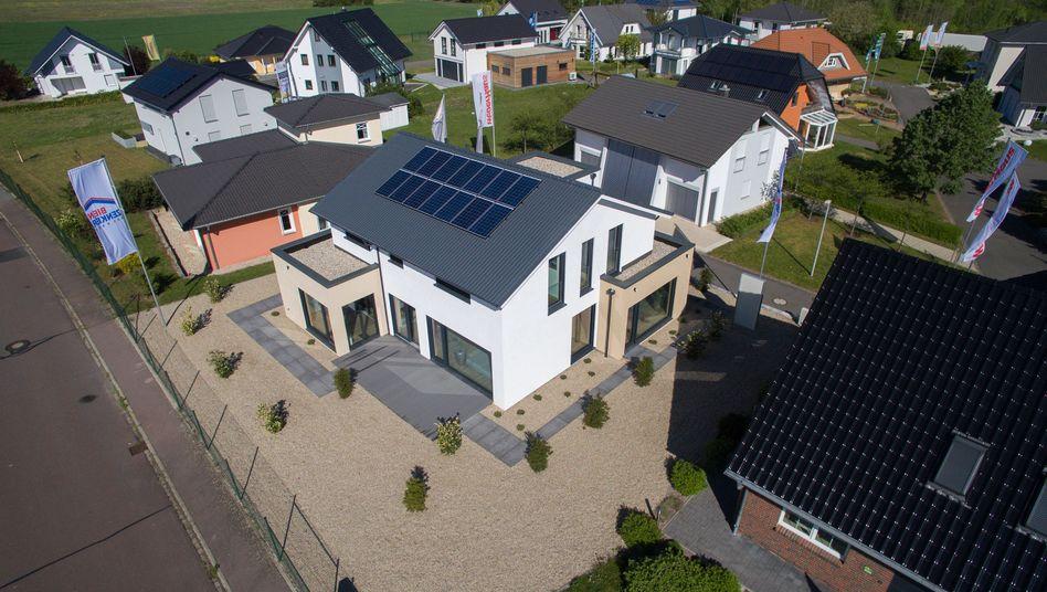 Musterhauspark in Sachsen: Preisanstieg schwächt sich ab