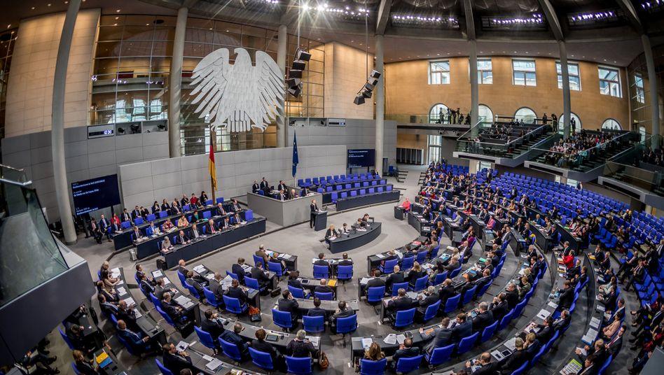 Abgeordnete im Bundestag