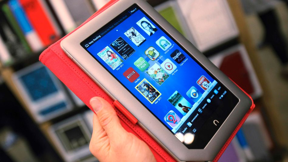 Barnes & Noble hopes to bring its Nook e-reader to the tough German market.