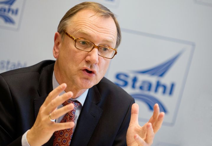 Hans Jürgen Kerkhoff, Präsident der Wirtschaftsvereinigung Stahl