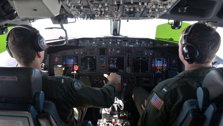 """Suche nach Flug MH370: """"Eine der rauesten Ecken der Welt"""""""