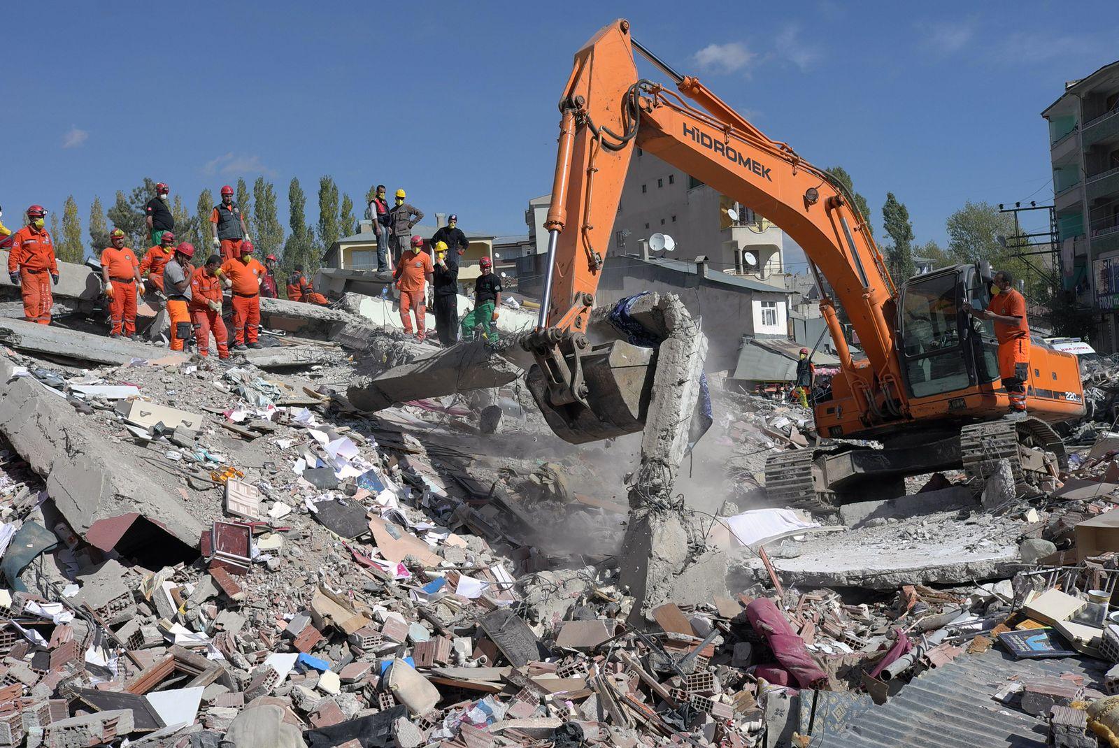 Türkei Ercis Erdbeben