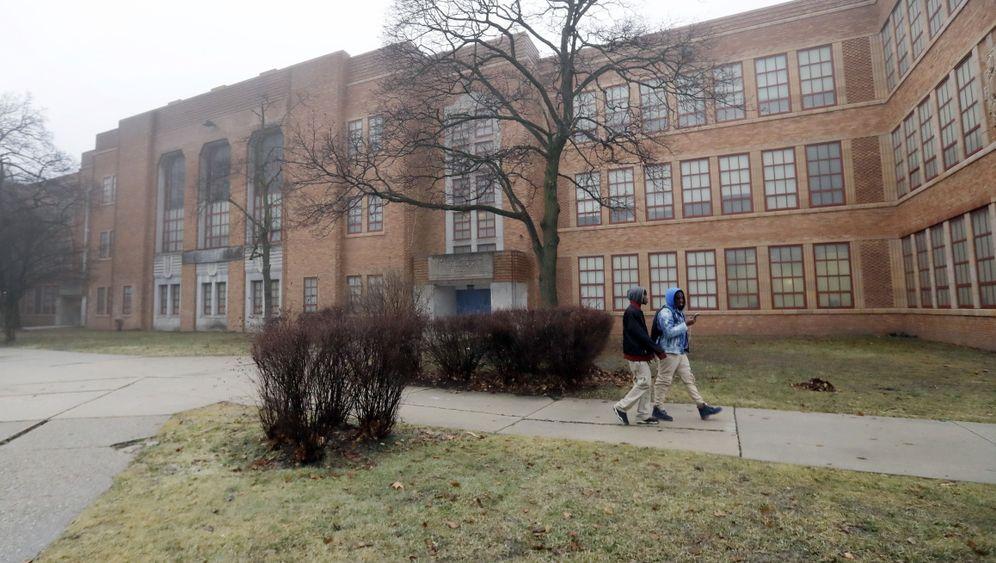 Folgen der Krise: Die Schulruinen von Detroit