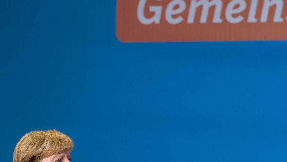 Bundeskanzlerin Angela Merkel: Wem trauen wir mehr als uns?